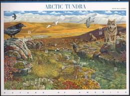 USA MiNr. 3761-70 - Arktische Tundra - Kleinbogen (selbstklebend) Postfrisch - Briefmarken