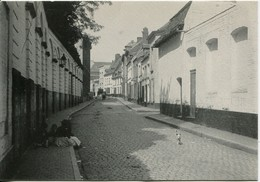 Mons Le 2 Août 1901 Rue Derrière La Halle ( Rue Jean Lescarts )  Fondation Losseau édit Jottrand - Mons
