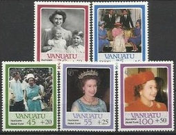 ZIL 1986-165-70 60a°QUIN ELIZABET, ZILL SEYCHELLEN, 1 X 5v, MNH - Seychelles (1976-...)