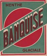 """""""BANQUISE"""" Menthe Glaciale, Etiquette - Labels"""