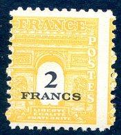 Variété Piquage à Cheval Yt709 - Curiosités: 1945-49 Neufs