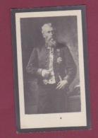 250818 - FAIRE PART DE DECES 1919 BELGIQUE VAN OCKERHOUT Conseiller Communal Ville De BRUGES Sénateur Homme Politique - Obituary Notices