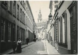 Mons Le 21 Mai 1903 Ste Elisabeth Vue De La Rue Peine Perdue Fondation Losseau édit Jottrand - Mons