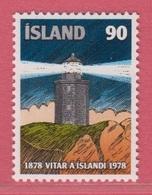 1978 **Islande  (sans Charn., MNH, Postfrish)  Yv  490Mi  537FA  574 - Neufs