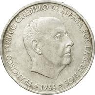 Monnaie, Espagne, Caudillo And Regent, 100 Pesetas, 1966, Madrid, TTB, Argent - [ 5] 1949-… : Royaume