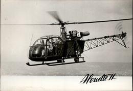 AVIATION - HELICOPTERE - Alouette II - Elicotteri