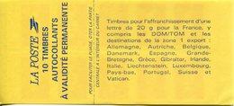 FRANCE -Carnet N° 2874-C4 Type MARIANNE De Briat  10 Timbres Cote 24e - Carnets
