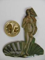 """Pin's - La PIN-UP """"Les Perles De Vénus"""" Femme Nue Dans Une Coquille Saint-Jacques - Pin-ups"""