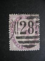 Great Britain Queen Victoria 1p Sc#89 Used - 1840-1901 (Victoria)