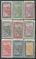 Madagascar N° 131 / 43  X Transport En Filanzane, La Série Des 13 Valeurs Trace De Charnière, Sinon TB - Madagascar (1889-1960)