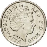 Monnaie, Grande-Bretagne, Elizabeth II, 5 Pence, 2010, TTB+, Copper-nickel - 1971-… : Monnaies Décimales