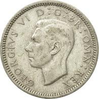 Monnaie, Grande-Bretagne, George VI, 6 Pence, 1945, TTB, Argent, KM:852 - 1902-1971 : Monnaies Post-Victoriennes