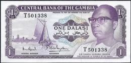 Gambia, 1 Dalasi 1971 UNC Banknote - Gambia