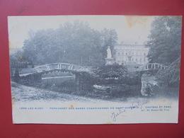 Lede :Château Et Parc (L337) 1 Coin Léger Pli - Lede