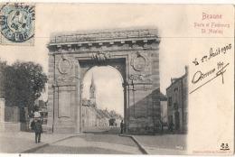 *** 21  ***  BEAUNE  Porte Du Faubourg St Nicolas - TTB Précurseur - Beaune