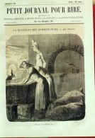PETIT JOURNAL Du RIRE-1856-22-NADAR-MARCELIN-RANDON-BERTALL-DAMOURETTE - 1850 - 1899