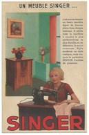 Publicité Singer - Un Meuble Singer - Pubblicitari