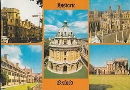 INGHILTERRA - OXFORD - VARIE VEDUTE - VIAGGIATA 1982 - Oxford
