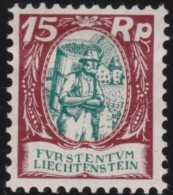 Liechtenstein    .    Yvert     .     68       .       *         .     Ungebraucht Mit Gummi  Und Falz - Liechtenstein