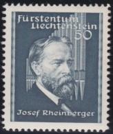 Liechtenstein    .    Yvert     .     154         .       *         .     Ungebraucht Mit Gummi  Und Falz - Liechtenstein
