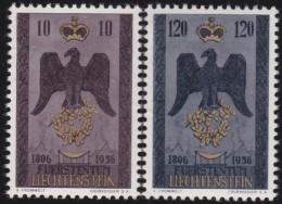 Liechtenstein    .    Yvert     .       313/314      .      *    .     Ungebraucht Mit Gummi  Und Falz - Liechtenstein