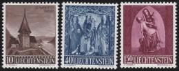 Liechtenstein    .    Yvert     .       324/326    .      *    .     Ungebraucht Mit Gummi  Und Falz - Liechtenstein