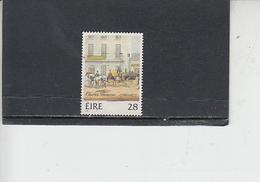 IRLANDA  1986 - Unificato  612° - Arte - Pittura - 1949-... Repubblica D'Irlanda