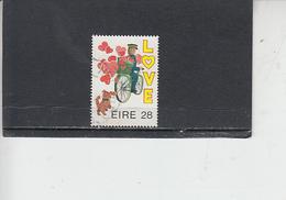 IRLANDA  1987 - Unificato  617° - Amore - 1949-... Repubblica D'Irlanda