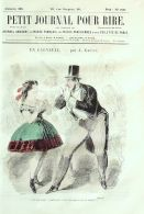 PETIT JOURNAL Du RIRE-1862-366-GREVIN-DORE-BAYARD-LEFILS-BARIC- - 1850 - 1899