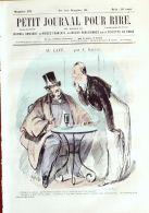 PETIT JOURNAL Du RIRE-1862-370-GREVIN-GIRIN-LEFILS-RANDON-TALIN- - 1850 - 1899