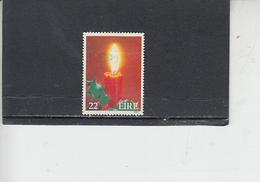 IRLANDA  1985 - Unificato 586° - Natale - 1949-... Repubblica D'Irlanda
