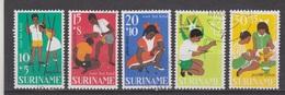 Suriname 484-488 MNH ; Kinderzegels, Children Stamps, Timbres D'enfants, Sellos De Ninos 1967 NOW SPECIAL SURINAME SALE - Suriname ... - 1975