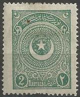 Turkey - 1924 Crescent & Star 2pi MH *     Mi 829 - Unused Stamps
