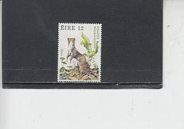 IRLANDA  1980 - Unificato 424° - Fauna - 1949-... Repubblica D'Irlanda