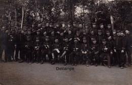 CP Photo : Les Officiers Du 117ème Régiment D'Infanterie - Le Mans - 1912 - Guerre, Militaire