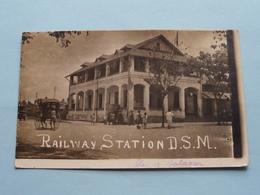 RAILWAY STATION > DAR ES SALAAM ( D.S.M. ) Fotokaart / Anno 1920 > Gent Ledeberg ( Zie Foto ) ! - Tanzanie