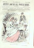 PETIT JOURNAL Du RIRE-1866-602-GREVIN-LORSAY-RANDON-GIRIN-BARIC - 1850 - 1899