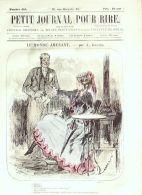PETIT JOURNAL Du RIRE-1866-610-GREVIN-RANDON-DAMOURETTE-DARJOU-GRIPP - 1850 - 1899