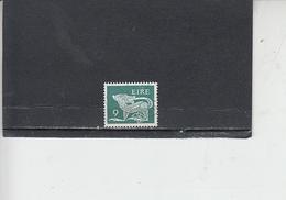 IRLANDA  1976 -  Unificato 349A°-  Animale Simbolico - 1949-... Repubblica D'Irlanda