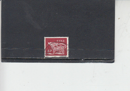 IRLANDA  1968 -  Unificato 215° -   Animale Simbolico - 1949-... Repubblica D'Irlanda