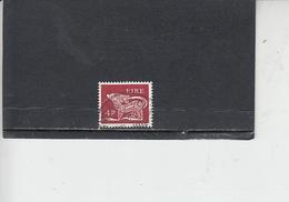 IRLANDA  1968 -  Unificato 215° -   Animale Simbolico - Usati