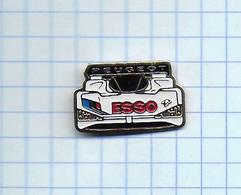 Pin's Pins /  THEME CARBURANT -  AUTOMOBILE - PEUGEOT   / ESSO - F1 Formule 1 ( AMLOOK ) - Peugeot