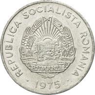 Monnaie, Roumanie, 15 Bani, 1975, TTB+, Aluminium, KM:93a - Roumanie