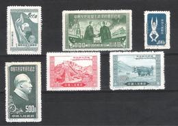 Chine - Lot Timbres Neufs Sans Gomme - 1949 - ... Volksrepublik