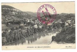 Le Bousquet D'Orb Environs De Millau-Creissels -Détachement Des Prisonniers De Guerre- Mines Du Bousquet D'Orb - War 1914-18