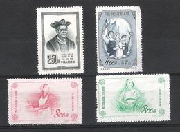 Chine - Lot Timbres 1953  Neufs Sans Gomme (2eme Choix) - 1949 - ... Volksrepublik