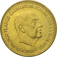 Monnaie, Espagne, Francisco Franco, Caudillo, Peseta, 1974, TTB - [ 5] 1949-… : Royaume