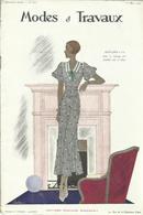 Modes Et Travaux, 1 Mai 1933, No.321 + Supplement - Fashion