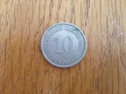 10 Pfennig 1911 E - Germany - 10 Pfennig