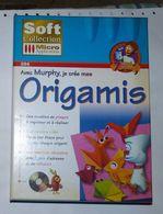 Avec Murphy Je Crée Mes Origamis TBE   Un Logiciel à Conseiller Aux Enfants Dès 7 Ans !.  L'origami Est L'art Du Pliage - PC-Games